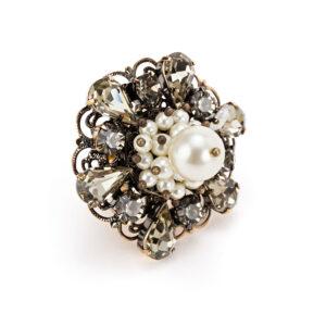 Anello con perla Elisabetta Franchi