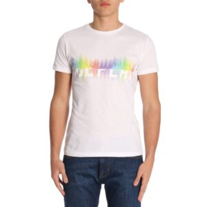 T-shirt bianca rainbow Ice Play Iceberg