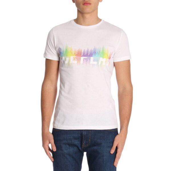 T-shirt bianca rainbow Ice Play Iceberg