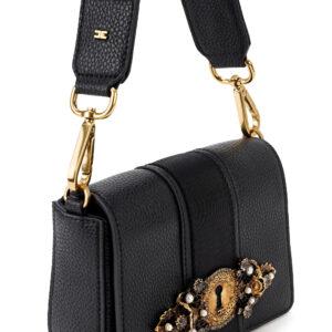Borsa gioiello nera Elisabetta Franchi