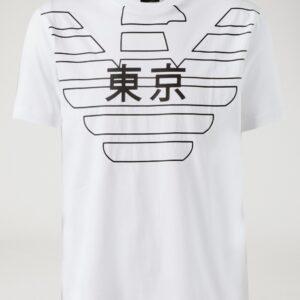 T-shirt con stampa Emporio Armani