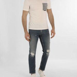 T-shirt con taschino a filetto Paolo Pecora