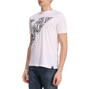 T shirt con scritte Emporio Armani