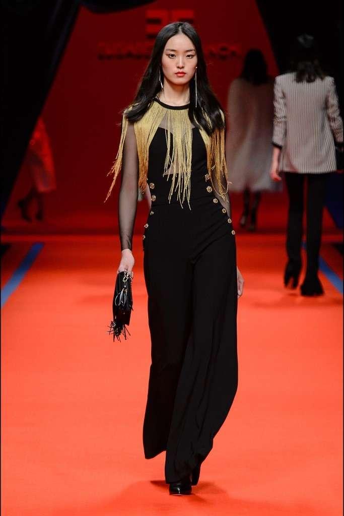 474e3489be Elisabetta Franchi: in passerella la collezione Autunno/Inverno 2016-2017 -  Blu Moda Fashion Team