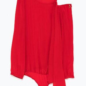 camicia body in seta Patrizia Pepe
