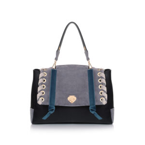 City bag ribelle black Le Pandorine