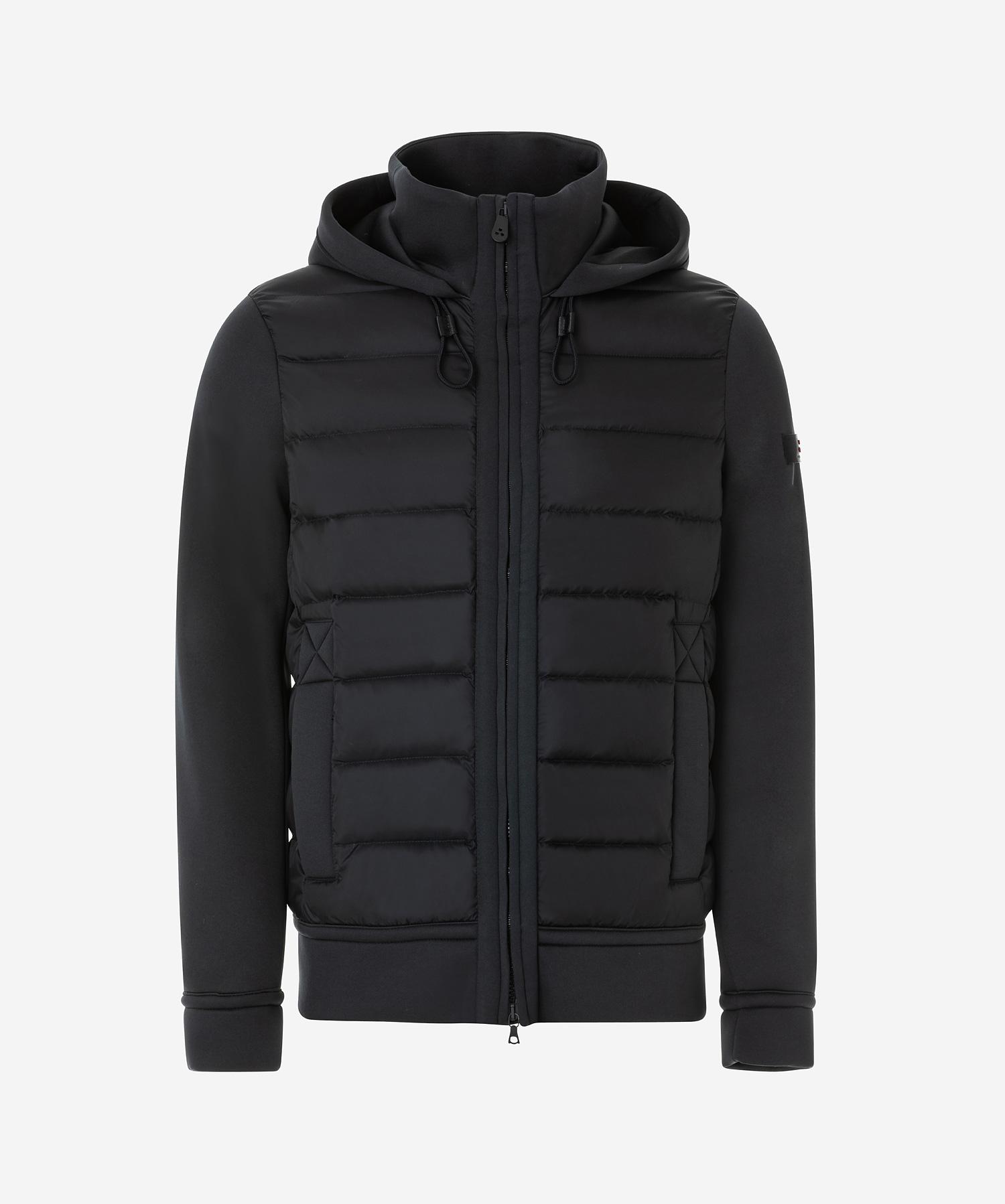 new styles 9c302 87999 Giubbotto in nylon e jersey blu Peuterey
