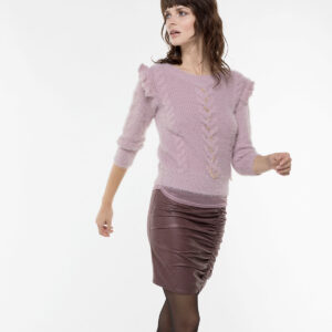 maglia con rouches Patrizia Pepe