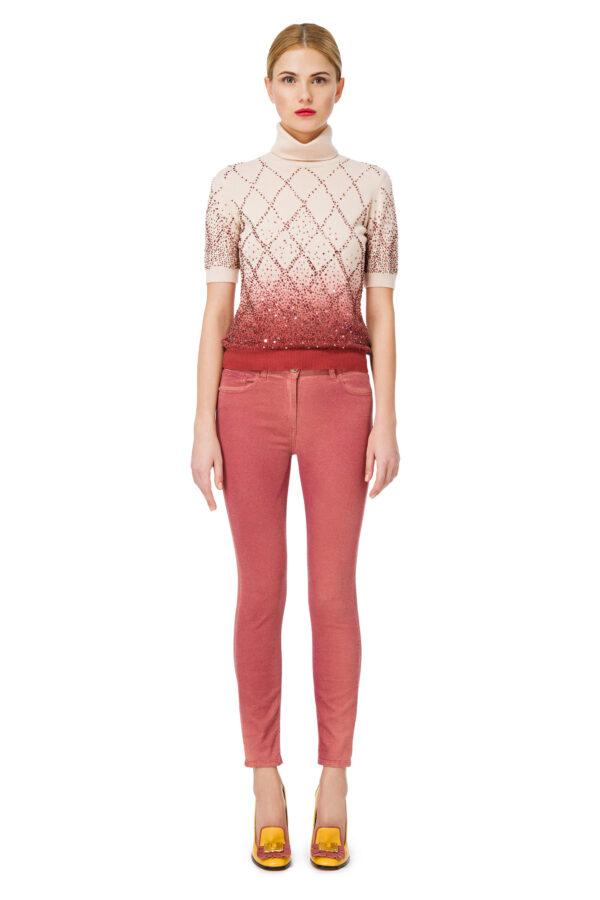 pantalone skinny Elisabetta Franchi