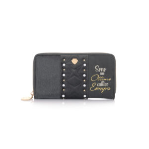 Wallet Soft Esempio Dark Grey Le Pandorine