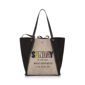Week Bag Sunday Taupe Le Pandorine