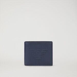 portafoglio blu aquila emporio armani