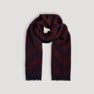 sciarpa in misto lana emporio armani