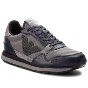 sneakers logo emporio armani