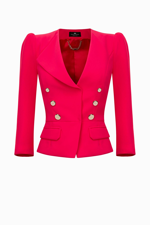 buy online fe770 3dd86 Giacca corta Elisabetta Franchi