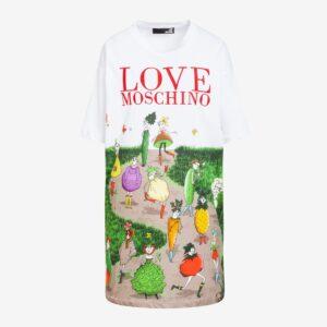 Abito garden Love Moschino