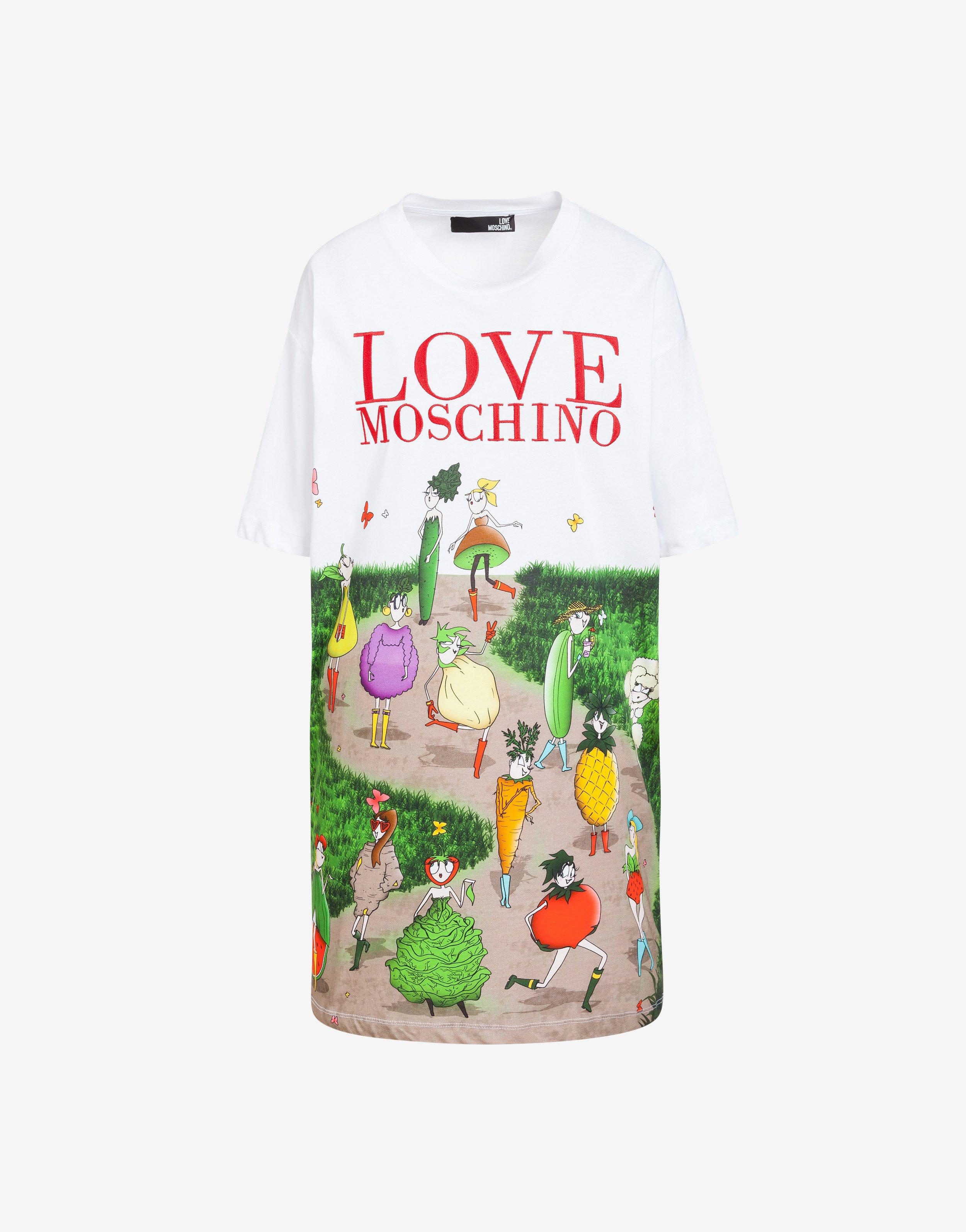 competitive price 64ba4 a89ef Abito garden Love Moschino