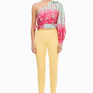Pantalone skinny con catena Elisabetta Franchi