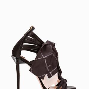 Sandalo con foulard Elisabetta Franchi
