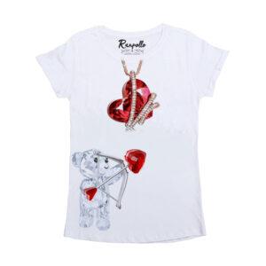 T-shirt arco cuore Ranpollo