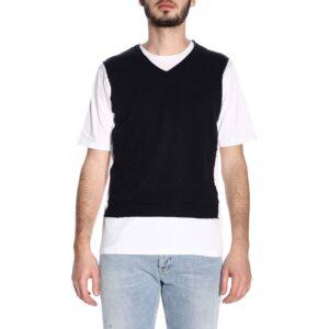 T-shirt bicolore Daniele Alessandrini
