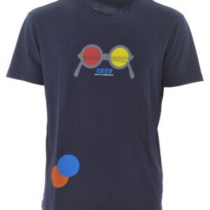 T-shirt blu Daniele Alessandrini