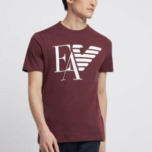 T-shirt EA bordeaux Emporio Armani