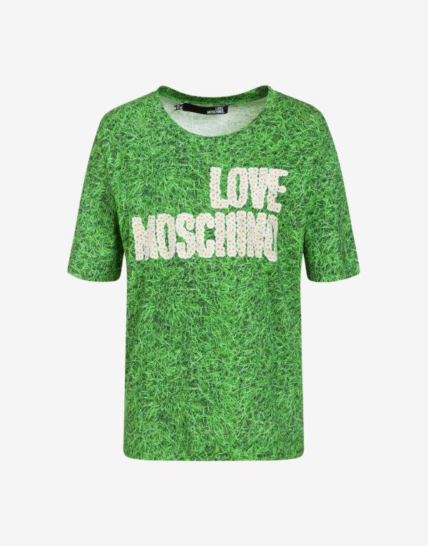 T-shirt Garden Love Moschino