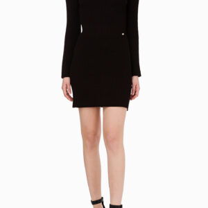 Abito in maglia off the shoulder Elisabetta Franchi