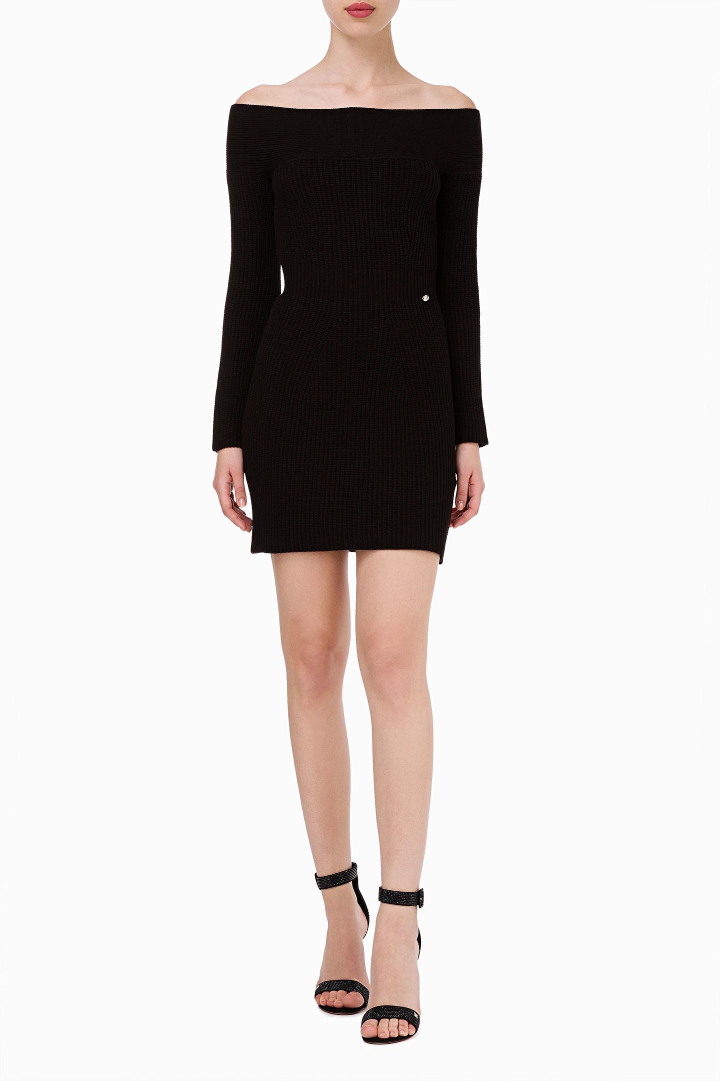 ELISABETTA FRANCHI Mini abito doppiopetto   Stile di moda