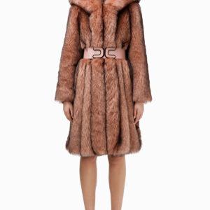 cappotto con cintura Elisabetta Franchi