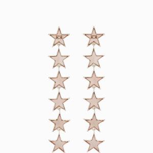 Orecchini pendenti con stelle Elisabetta Franchi