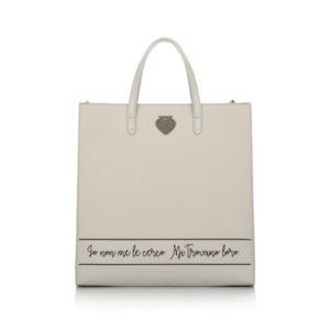 Glossy shopper Loro Le Pandorine