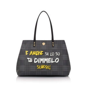 Graffiti bag Dimmelo Le Pandorine