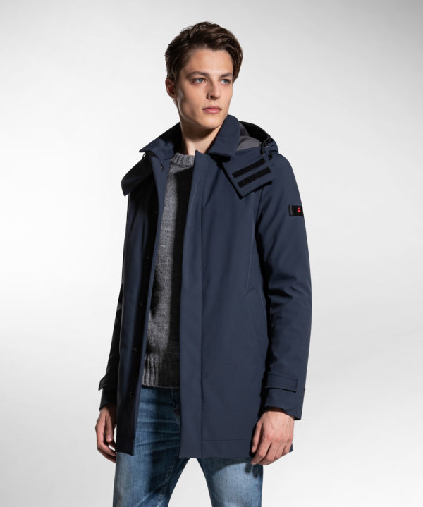 Trench blu Peuterey