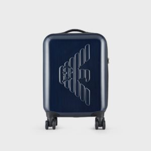 Trolley blu Emporio Armani