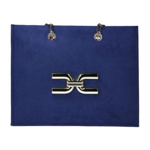 borsa grande con manici in catena Elisabetta Franchi