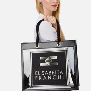 Borsa grande in pvc Elisabetta Franchi