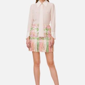 Camicia in georgette Elisabetta Franchi