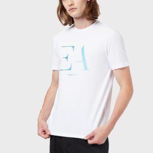 T-Shirt bianca Emporio Armani