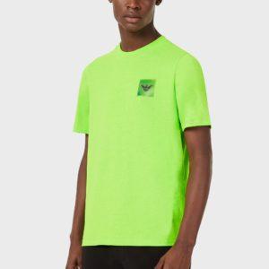 T-Shirt con patch Emporio Armani