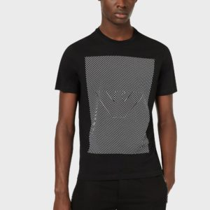 T-shirt logo optical Emporio Armani