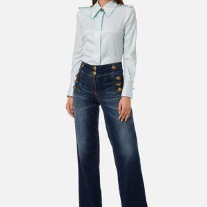 jeans palazzo Elisabetta Franchi
