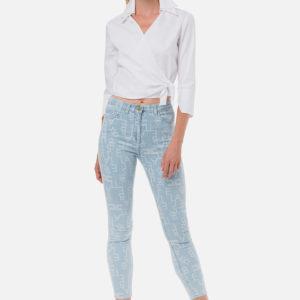 Jeans con logo Elisabetta Franchi