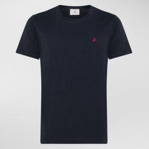 T-shirt in cotone blu Peuterey