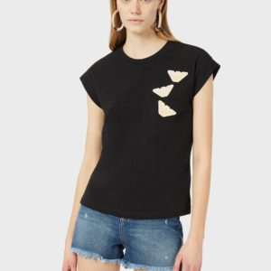 T-shirt aquile patch Emporio Armani