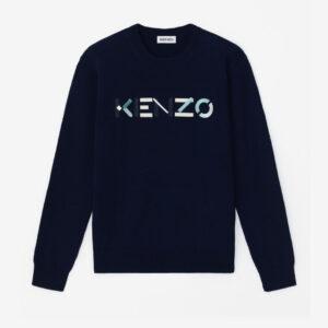 Maglione con logo kenzo