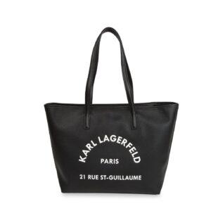 Shopper in pelle Karl Lagerfeld