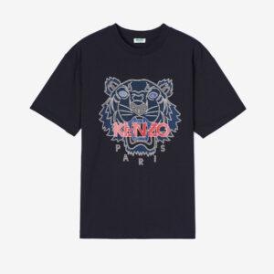 Tiger t-shirt-black kenzo