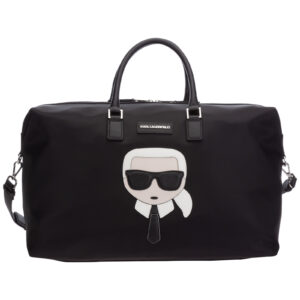Borsa viaggio iconic Karl Lagerfeld